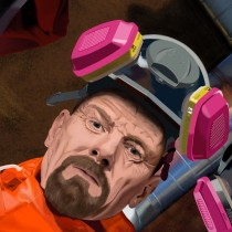 Deatil of Breaking Bad Large Size Digital Painting