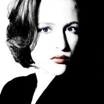 Gillian Anderson Large Size Portrait