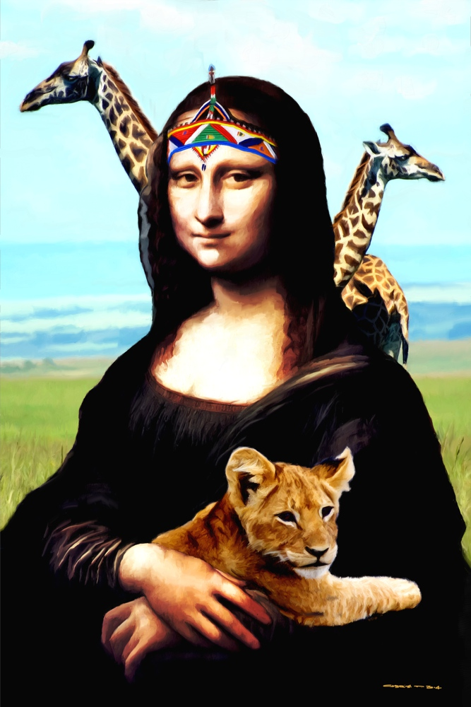 Gioconda Travelling - Africa