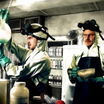 Walter White And Jesse Pinkman Large Size Digital Painting