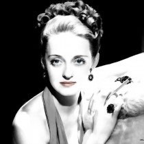 Bette Davis Portrait #1 Large Size Portrait