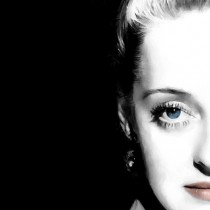 Detail of Bette Davis Portrait #1