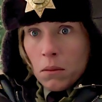 Detail of Frances McDormand @ Fargo Large Size Digital Painting