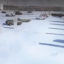 Detail of Parking @ Fargo Large Size Digital Painting