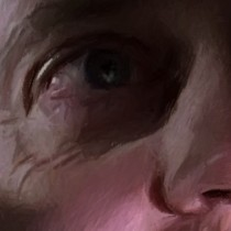 Detail of Steve Buscemi @ Fargo Large Size Digital Painting