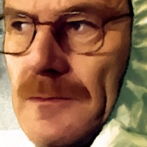 Detail of Walter White And Jesse Pinkman Large Size Digital Painting