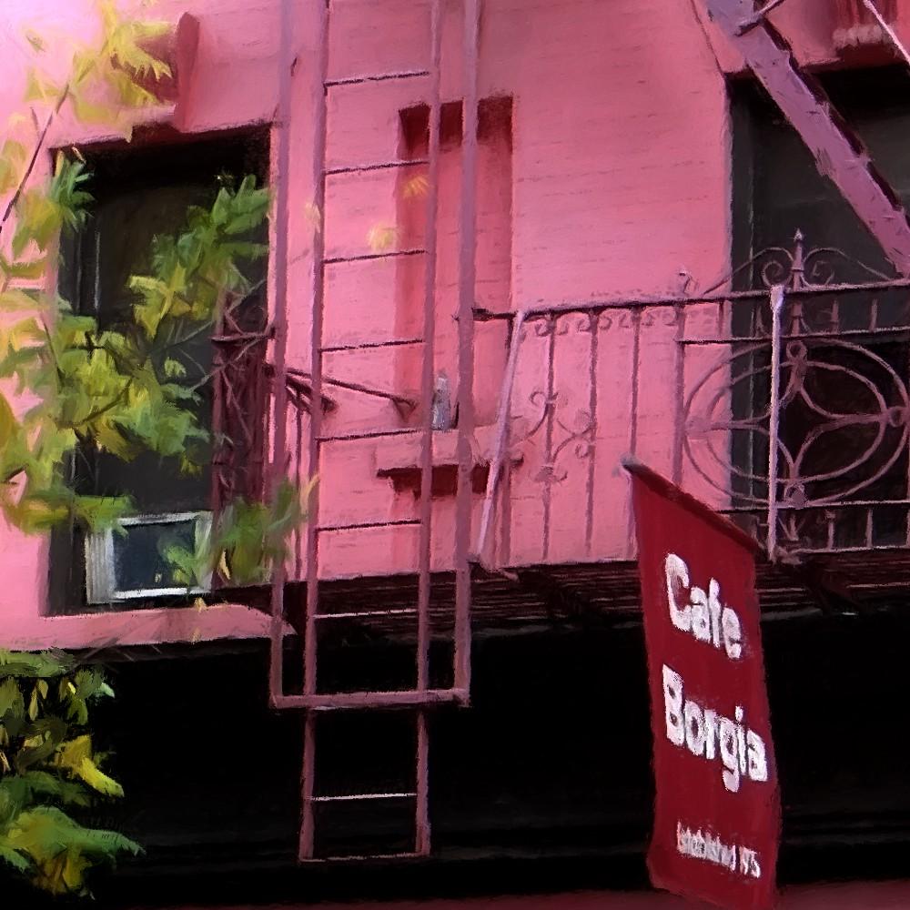 Cafe Borgia Menu