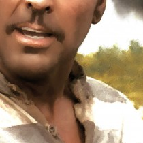Detail O Brother, Where Art Thou? Large Size Digital Painting