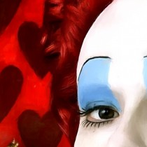 Detail of Alice In Wonderland #1 Large Size Digital Painting