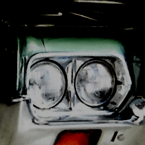 Detail of Gran Torino #1 Large Size Digital Painting