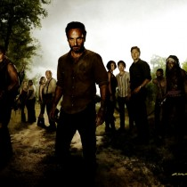 The Walking Dead Starring Large Size Digital Painting