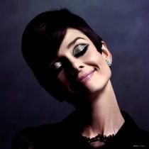 Audrey Hepburn Portrait #1 Large Size Portrait