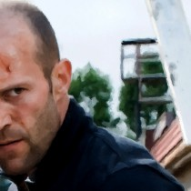 Detail of Jason Statham Portrait #1 Large Size Portrait