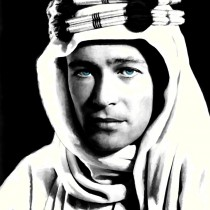 Lawrence of Arabia #2 Large Size Digital Painting