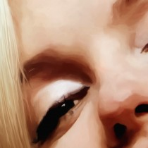 Detail of Marilyn Monroe Portrait #5 Large Size Painting