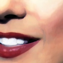 Detail of Marilyn Monroe Portrait #7 @ Something's Got to Give Large Size Painting
