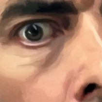 Detail of Mr. Bean TV Series #1 Large Size Painting