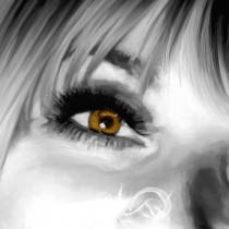 Detail of Sharon Tate Portrait #1 Large Size Painting