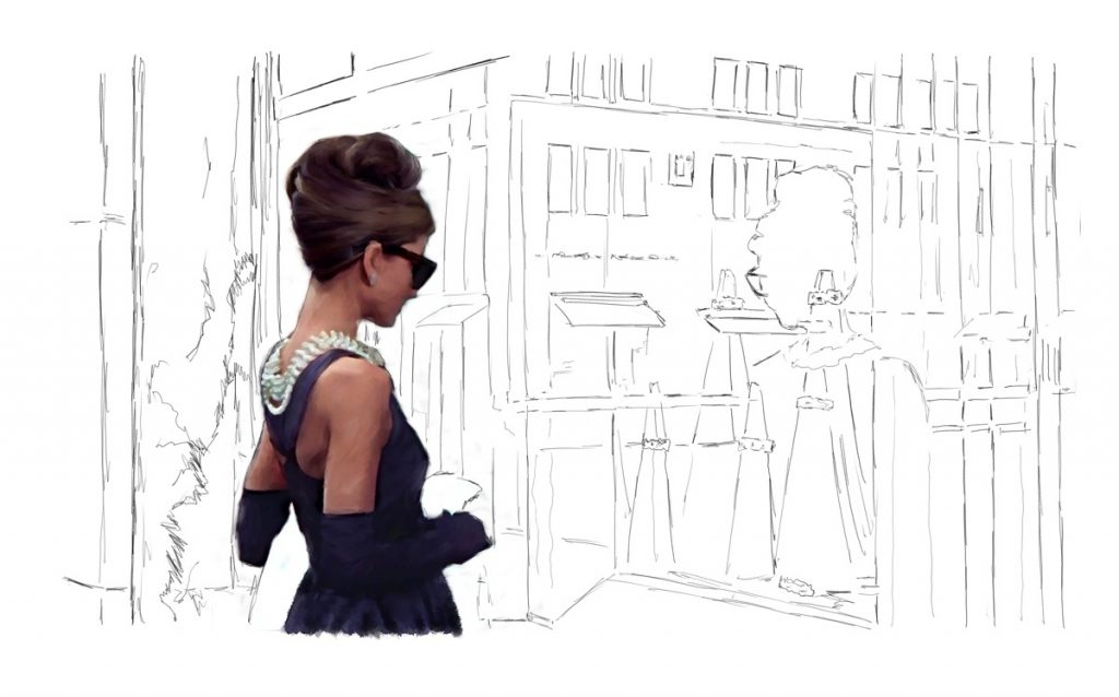 Audrey Hepburn @ Breakfast at Tiffany's #2 – Work in Progress