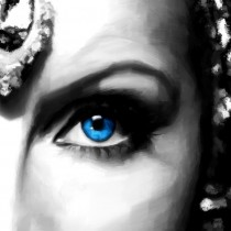 Detail of Greta Garbo Portrait #1 Large Size Painting