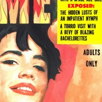 Detail of Vintage Magazine Covers Series #4 Large Size Painting