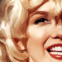 Detail of Some Like It Hot #1 Large Size Painting