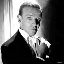 Fred Astaire Portrait #1 Large Size Painting