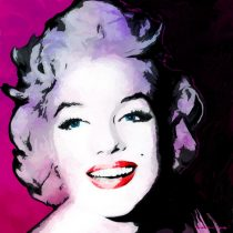 Marilyn Monroe Portrait #9 Large Size Painting