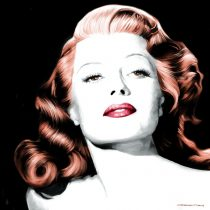 Rita Hayworth Portrait #1 Large Size Painting