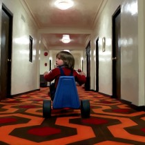 Danny Torrance @ The Shining Large Size Digital Painting
