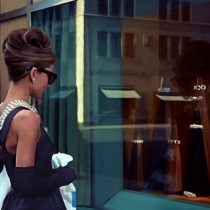 Breakfast at Tiffany's #2 Large Size Digital Painting