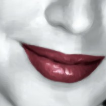Detail of Ava Gardner Portrait #1 Large Size Painting