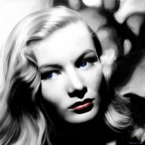 Veronica Lake Portrait #1 Large Size Painting